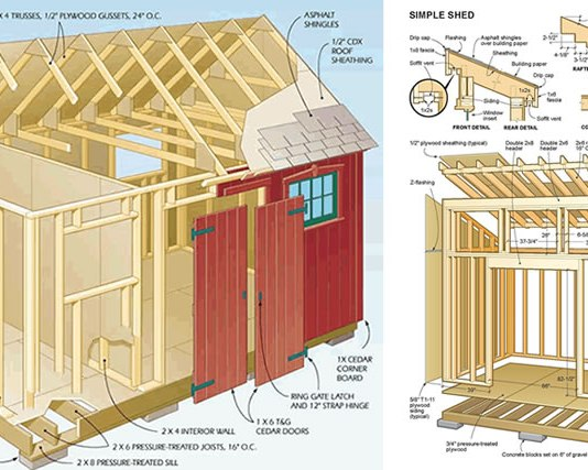 Ryan's Sheds Blueprint