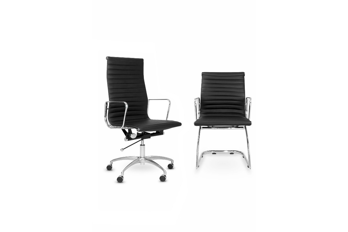 Contemporary Boardroom Leather Chair