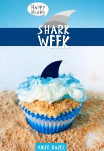 Shark cupcake 3