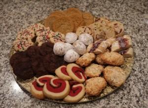 Christmas Cookies Tag Sale Tastes