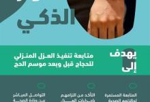 """Photo of وزارة الحج والعمرة: """"الصحة"""" تتابع إجراءات العزل المنزلي للحجاج عبر """"السوار الذكي"""""""