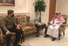 صورة محافظ الجبيل يستقبل مدير الإدارة العامة للجوازات بالمحافظة