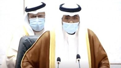 صورة الشيخ نواف الأحمد الجابر الصباح يؤدي اليمين الدستورية أميرًا لدولة الكويت
