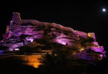صورة منطقة الجوف تكتسي باللون الوردي تضامنًا مع حملة مكافحة سرطان الثدي
