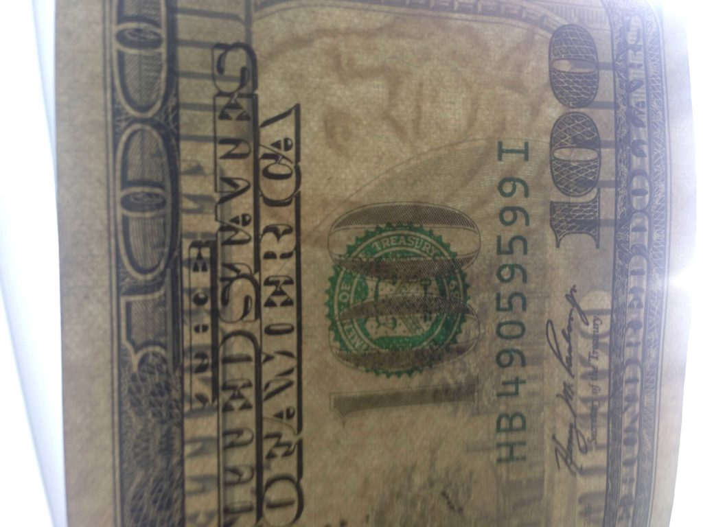 100 Dollar Bill Drop Card Template and Counterfeit U S Cash Floods Crime forums Krebs On Security