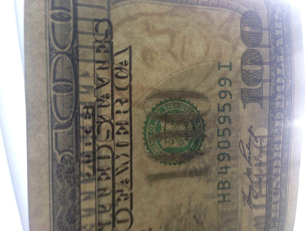 100 Dollar Bill Drop Card Template and Counterfeit U S Cash Floods Crime forums Krebs On Security