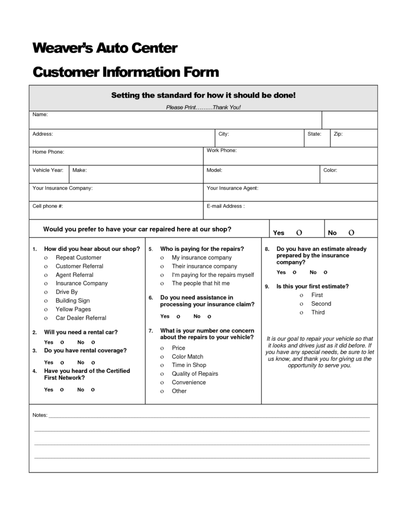 Auto Repair order Template Excel and Roof Replacement Estimate Template Roofing Decoration