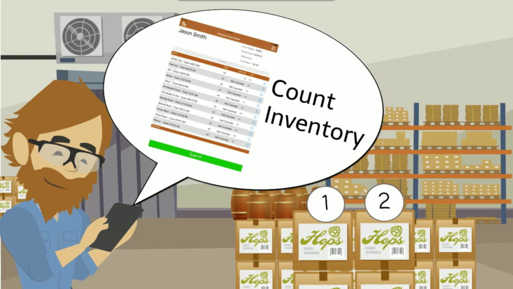Beer Inventory Spreadsheet and Obeer Brewery Inventory App orchestratedbeer