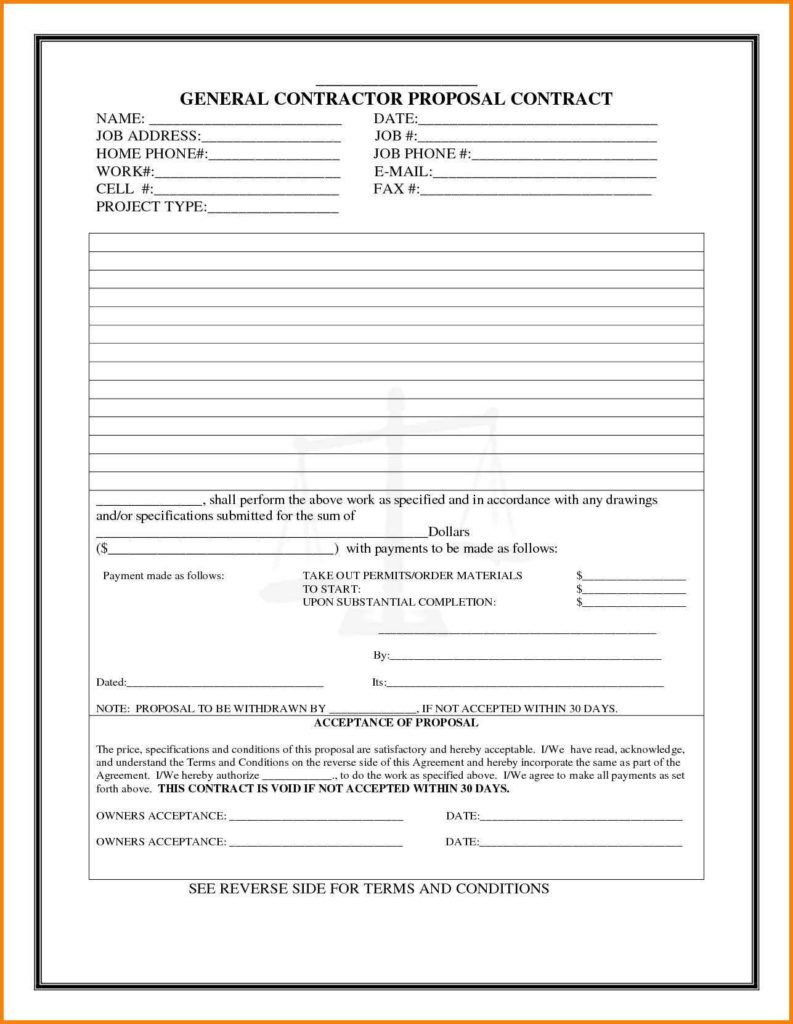 Bid Estimate Template and Free Construction Estimate forms Templates Dingliyeya