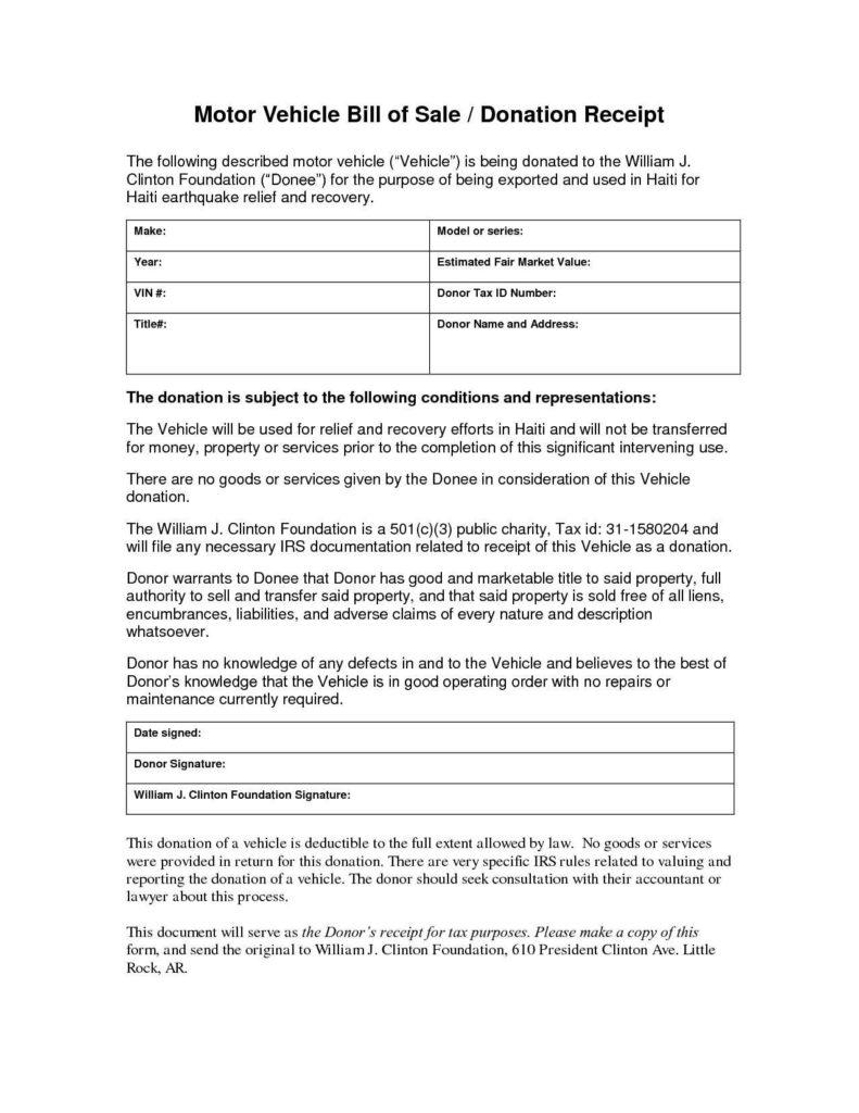 Bill Of Sale Template Alberta and Motor Vehicle Bill Of Sale Template Alberta Teerve Sheet