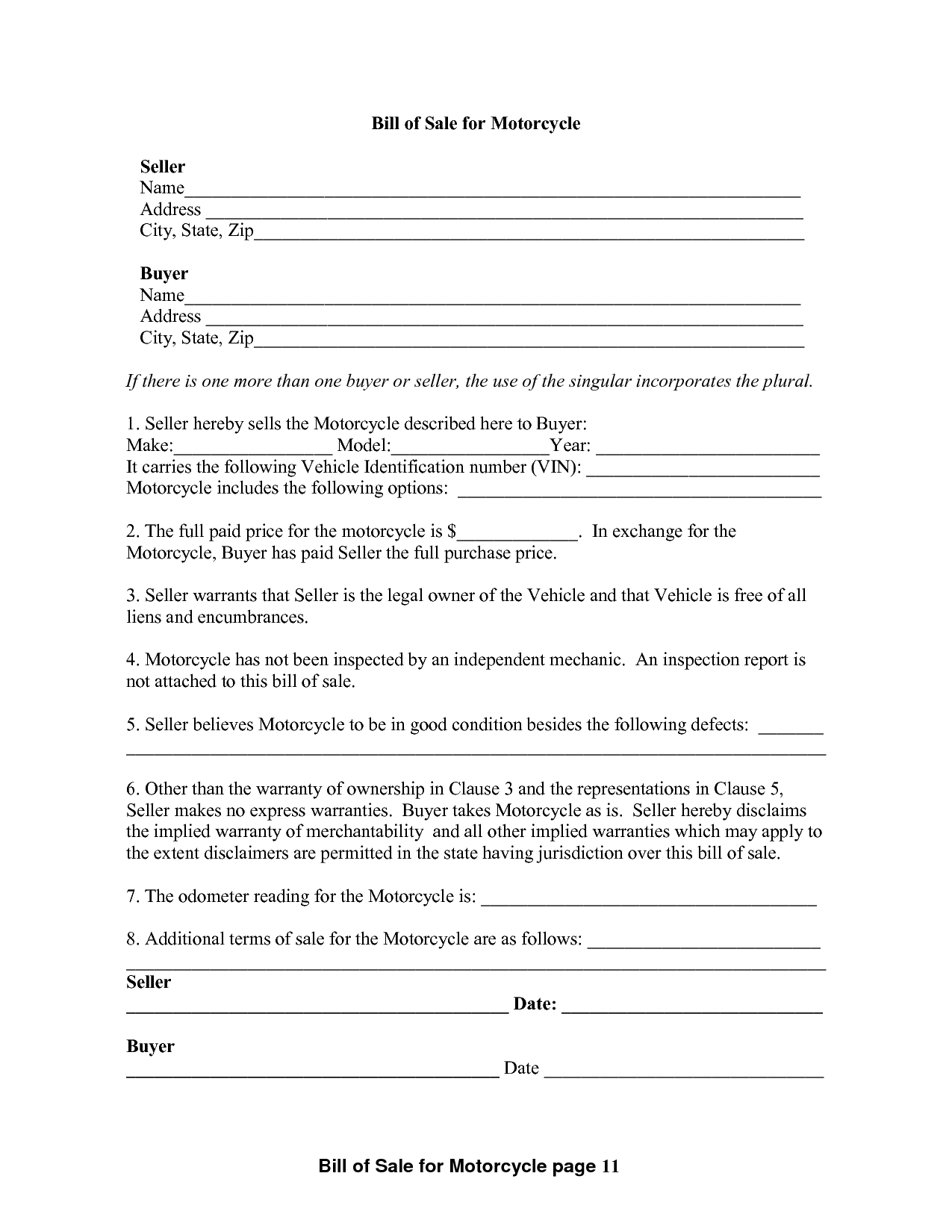Bill Of Sale Template Colorado and 100 Template for Vehicle Bill Of Sale Printerforms Biz Sample E