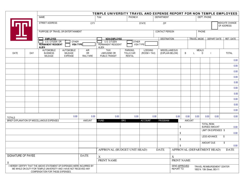 Budget Bills Template and 40 Expense Report Templates to Help You Save Money Template Lab