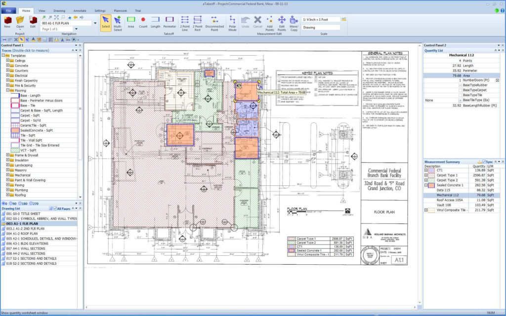 Building Estimate Template and Construction Estimating software for Australian Residential