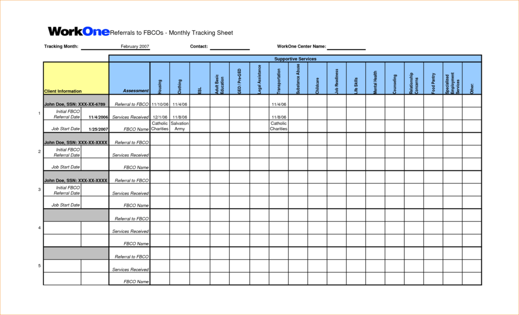 Candidate Tracking Spreadsheet and Job Tracking Spreadsheet Laobingkaisuo