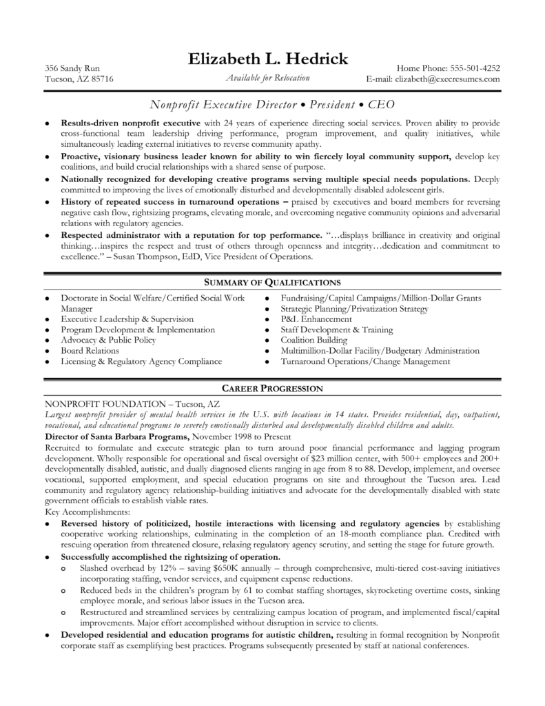 Ceo Report to Board Of Directors Template and Executive Director Resume Template Resume for Your Job Application