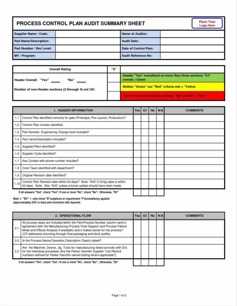 Compliance Audit Report Sample and 6 Audit Plan Template Excel Park attendant Auditor Resume Sample