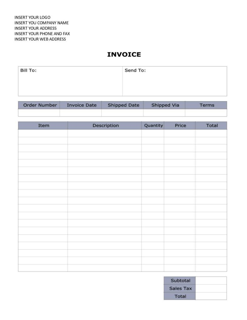 Consultant Billing Template and Word Document Invoice Template Sales Invoice Sample Word Olbghygl