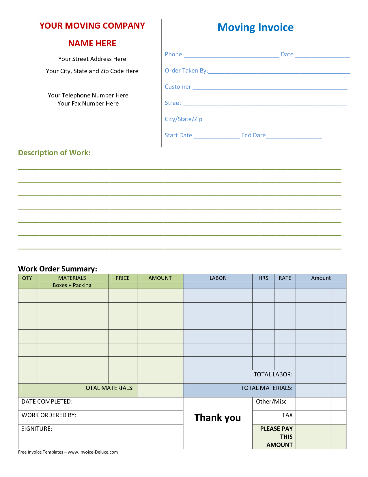 Contractor Billing Template and Pany Invoice Template Your Virtual Gateway to A Secure and
