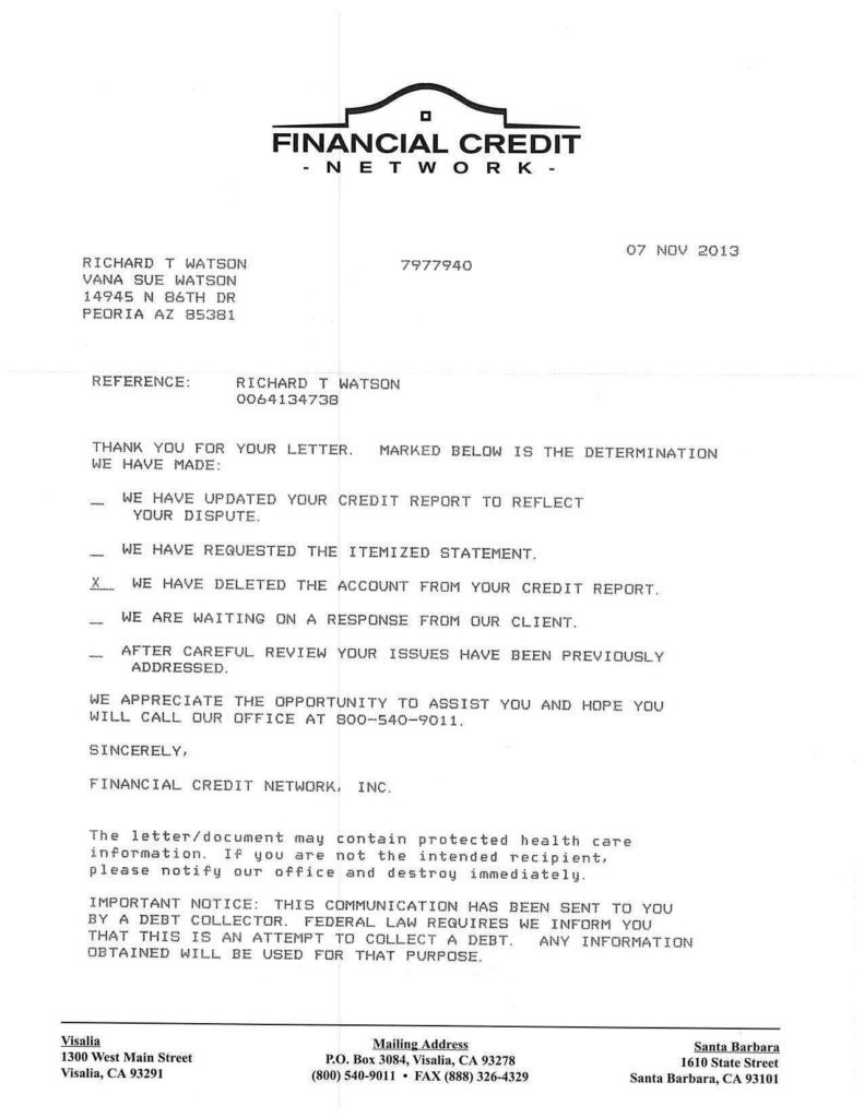 Credit Bureau Report Sample and Letter to Credit Bureau to Remove Paid Debt Best Business