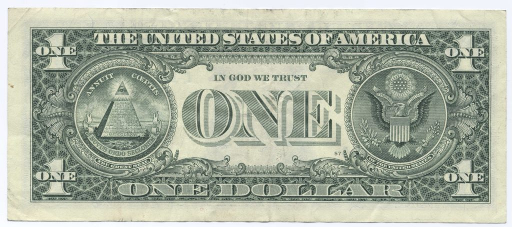 Custom Dollar Bill Template and File United States One Dollar Bill Reverse Wikimedia Mons