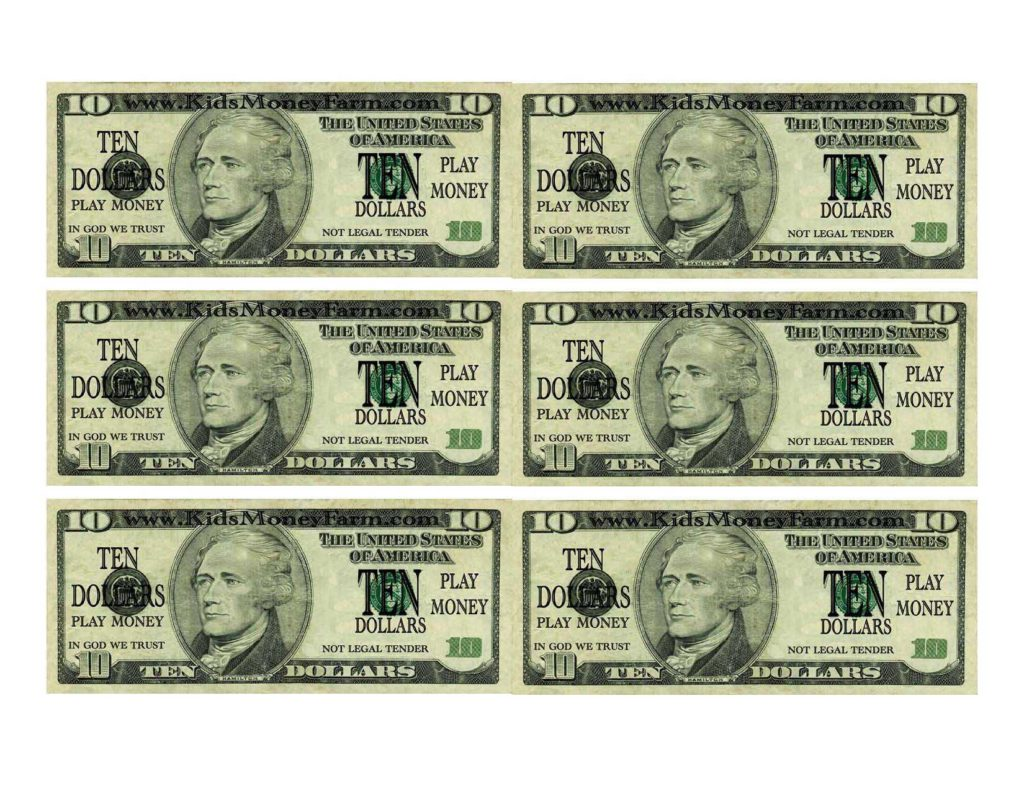 Custom Dollar Bill Template and Money Template Printable Virtren