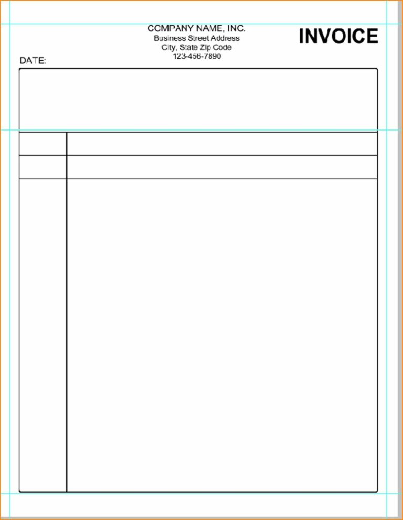 Doctor Bill Template and Pc Invoice Template