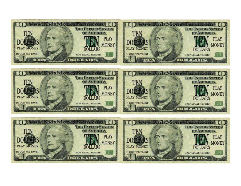 Best Printable Money For Kids