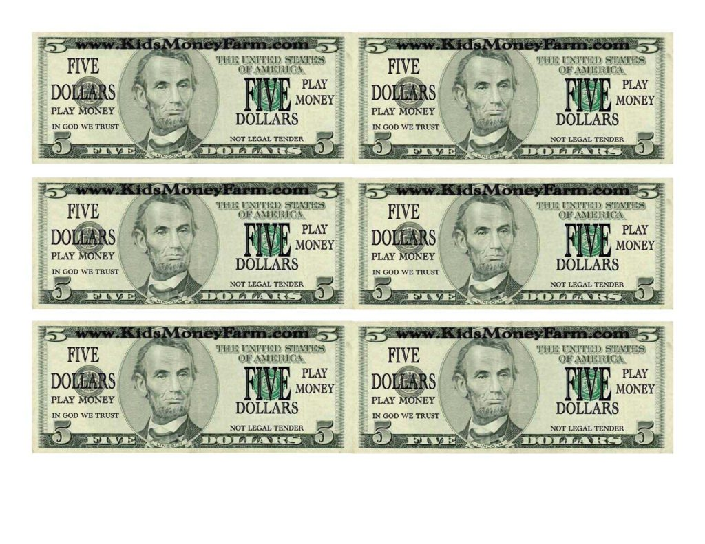 Dollar Bill Template For Teachers And Index Of User Cimage