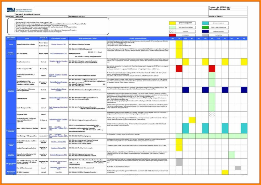 Employee Shift Scheduling Spreadsheet and Meeting Schedule Template Excel Exceltemplates123