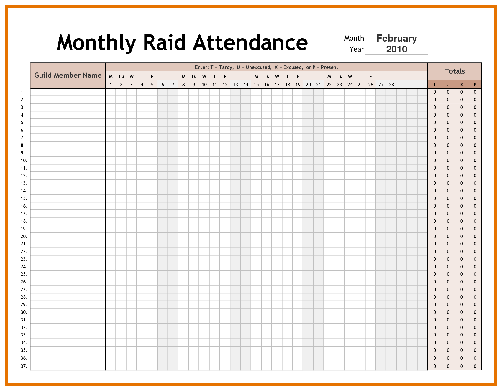 Employee Time Tracking Spreadsheet and attendance Tracking Archives Excel Templates Employee Planner and