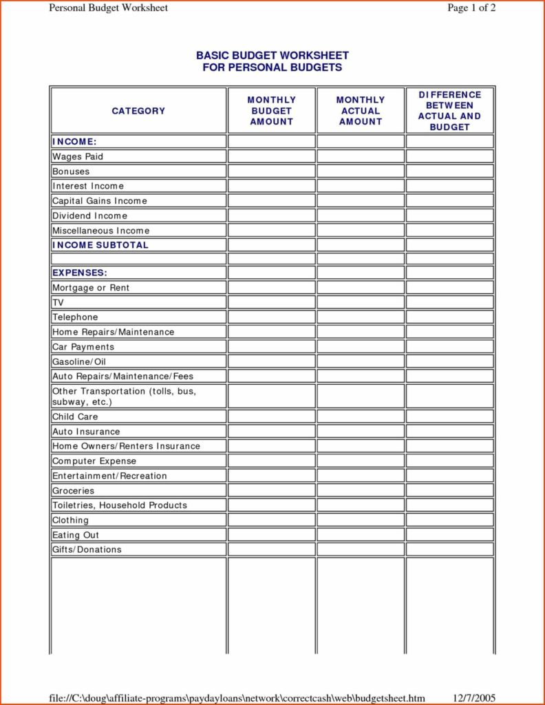 Estate Planning Worksheet Template and Financial Planning Templates Contegri