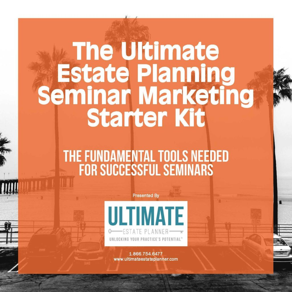 Estate Planning Worksheet Template and the Ultimate Estate Planning Seminar Marketing Starter Kit
