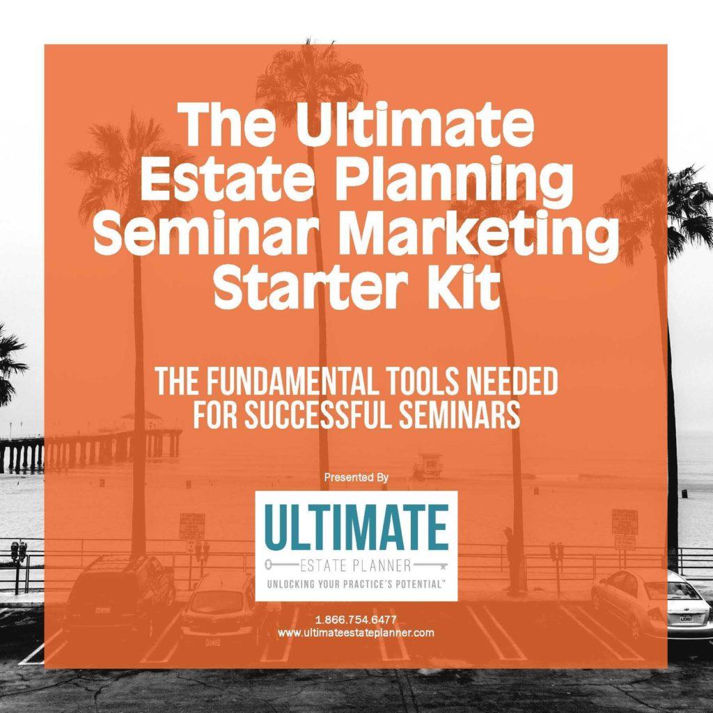 Estate Planning Worksheet Template and the Ultimate Estate Planning Seminar Marketing Starter Kit