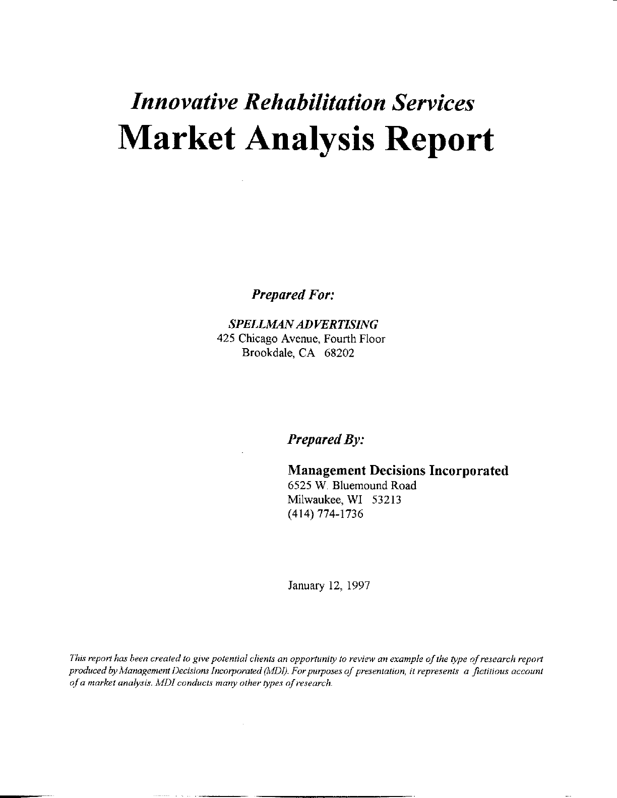 Example Of A Marketing Report and Free Market Analysis Report Template Sample Thogati