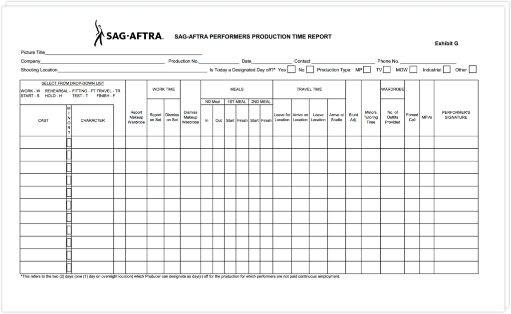 Examples Of Time Sheets and the Abc S Of Sag Exhibit G A Plete Step by Step Guide