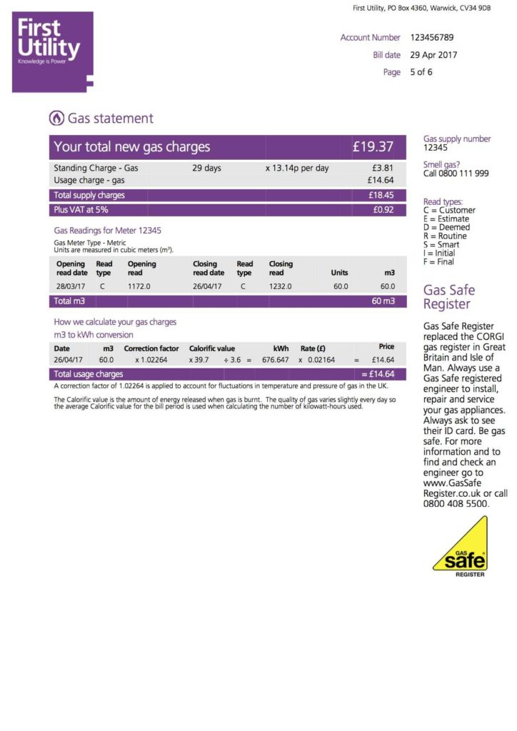 Fake Utility Bill Template Download and Understanding Your Home Energy Bill First Utility