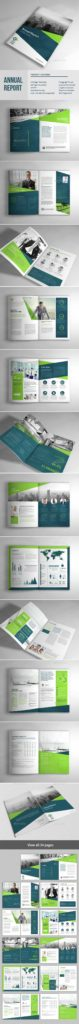 Financial Reports Templates and Annual Report Template Indesign Indd Here