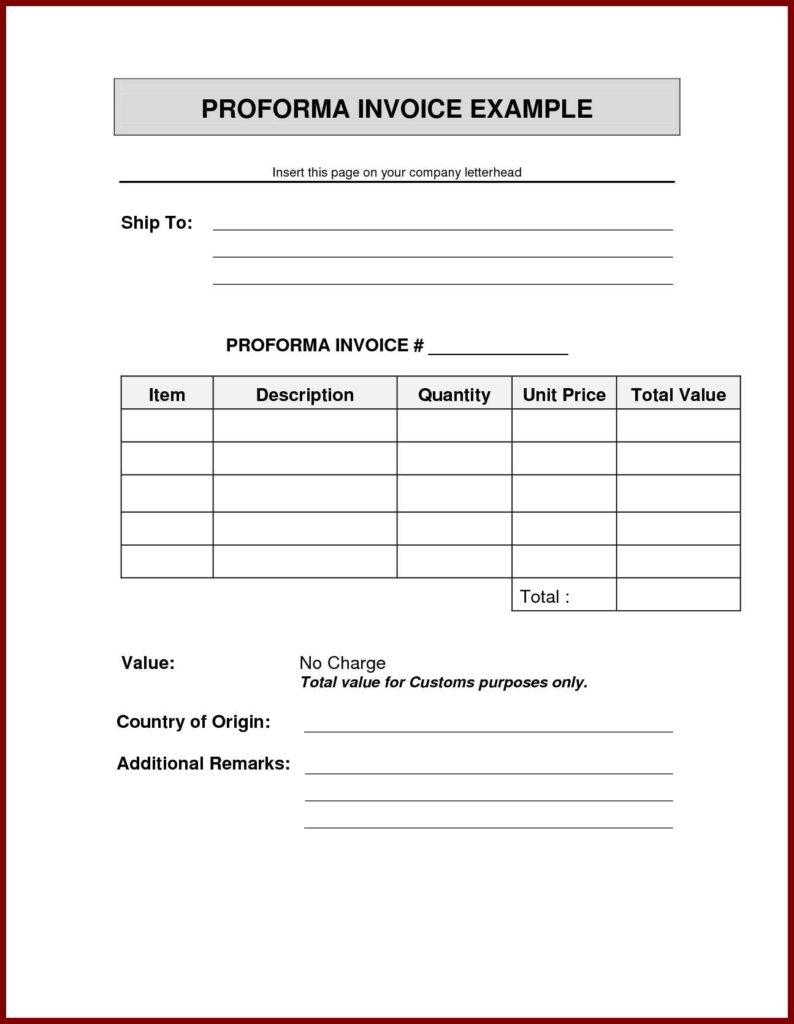 Free Hvac Invoice Template and Invoice Sample In Doc Rabitah