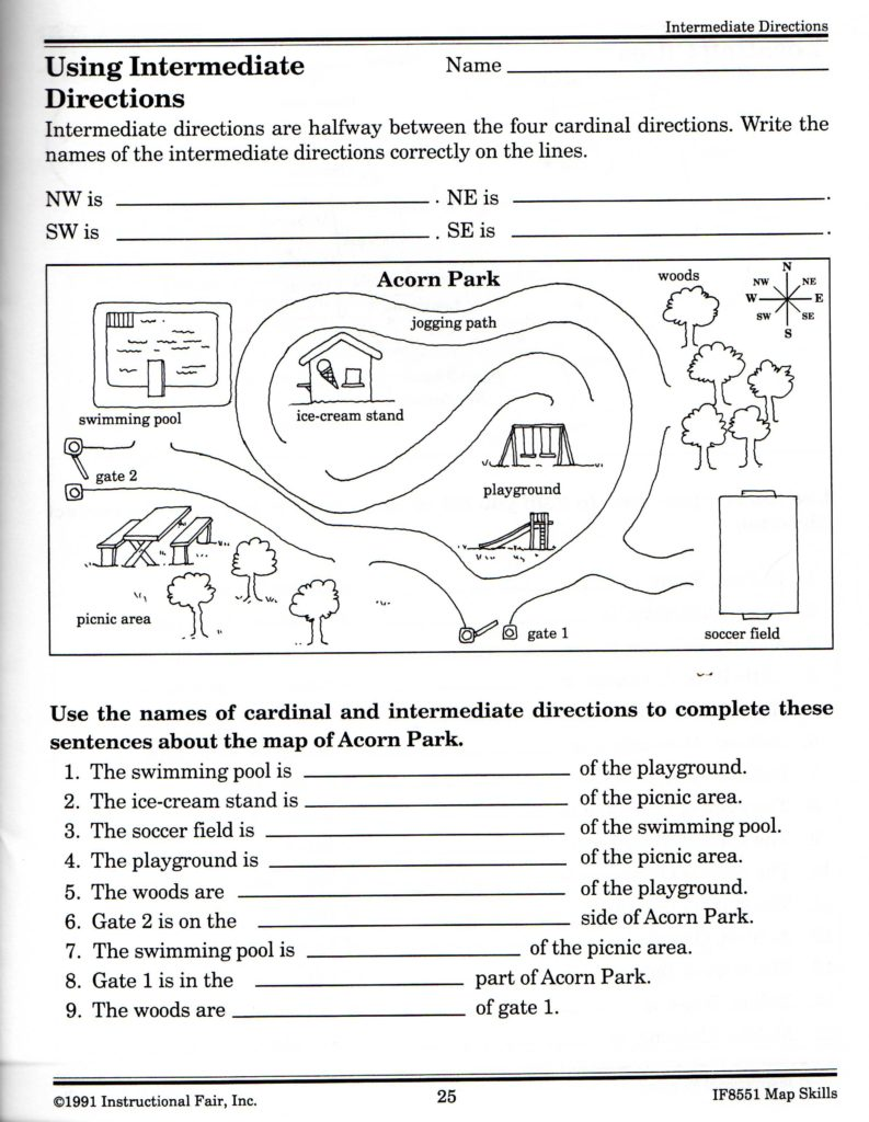 Free Life Skills Worksheets and Intermediate Directions Worksheet Graphic Design Logos