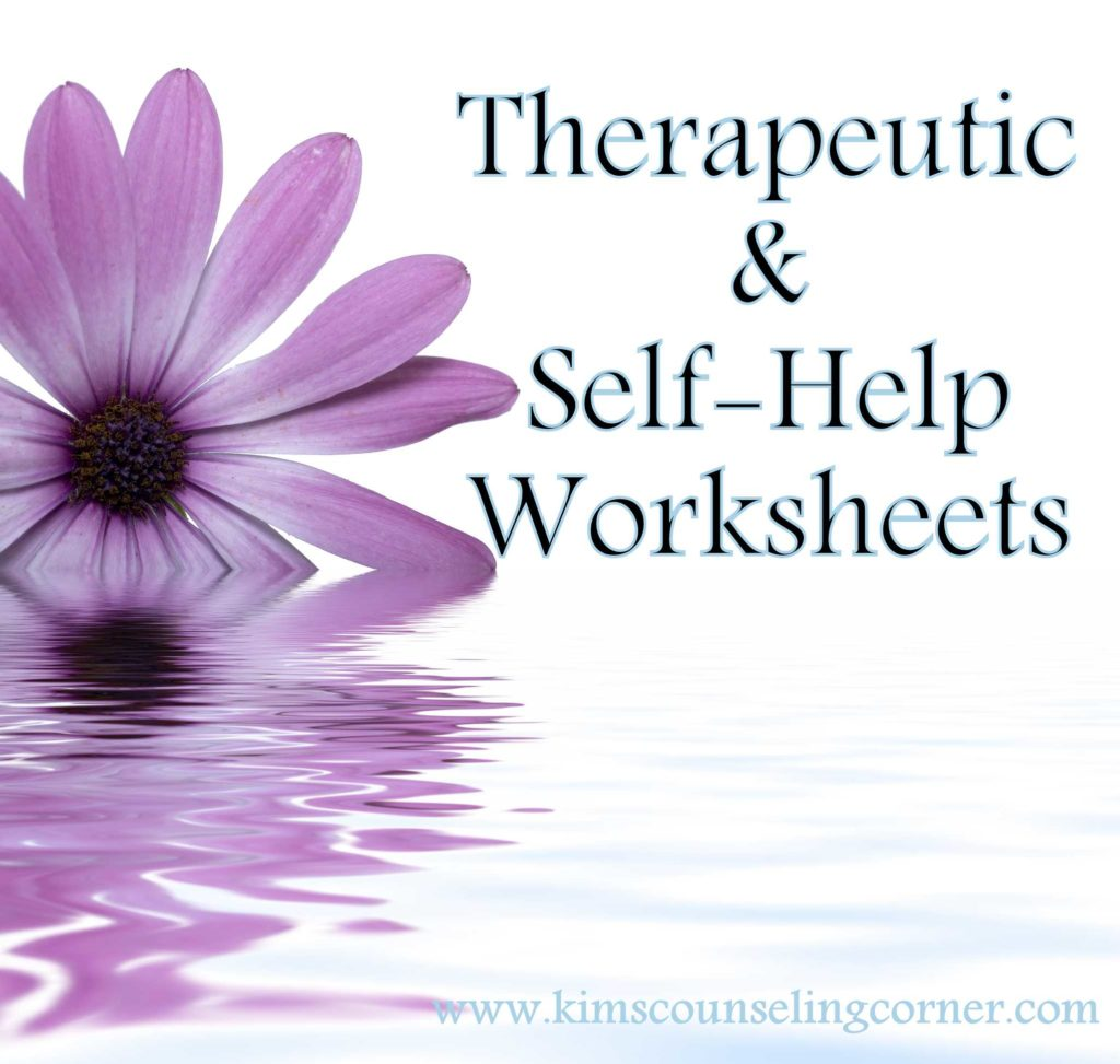 Free Marriage Counseling Worksheets and therapy and Self Help Worksheets Kim S Counseling Corner