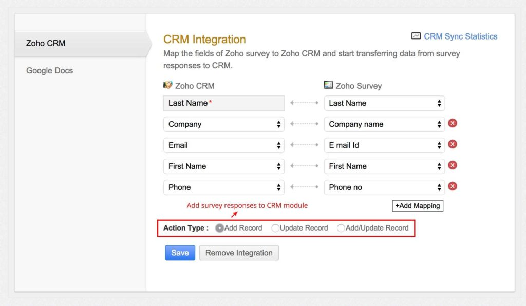 Google Spreadsheet Crm and Integrate with Apps that Makes Your Surveying Easier Throughout