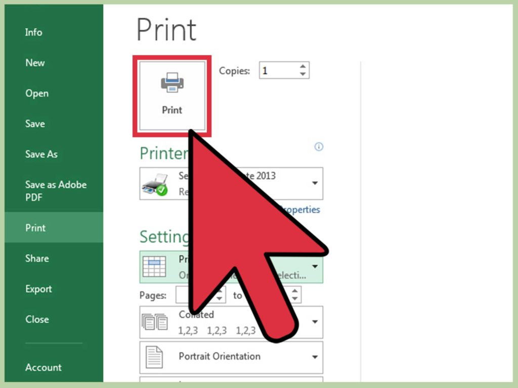 Help with Excel Spreadsheets and 3 Ways to Print Part Of An Excel Spreadsheet Wikihow