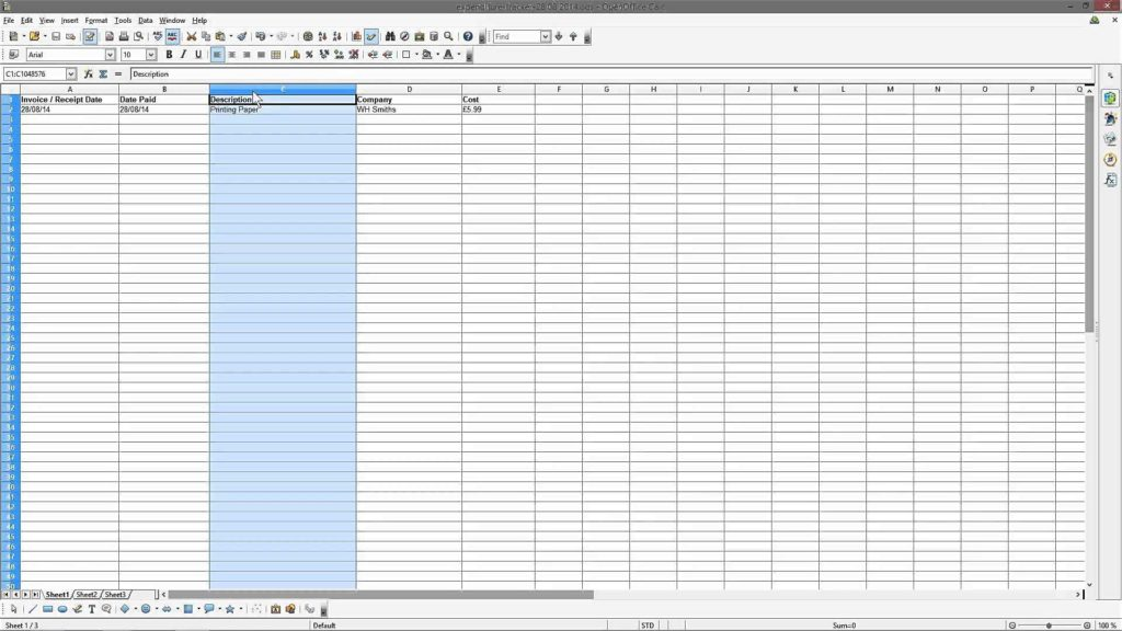 Help with Excel Spreadsheets and Small Business Expense Sheet Excel Spreadsheets