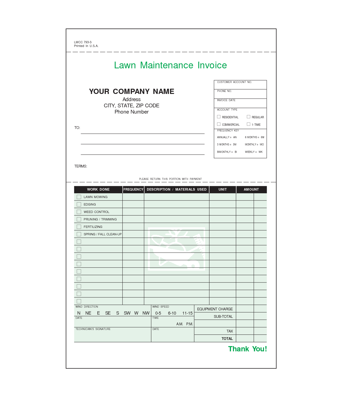 House Cleaning Invoice Sample and Lawn Care Invoice Template Invoice Sample Template
