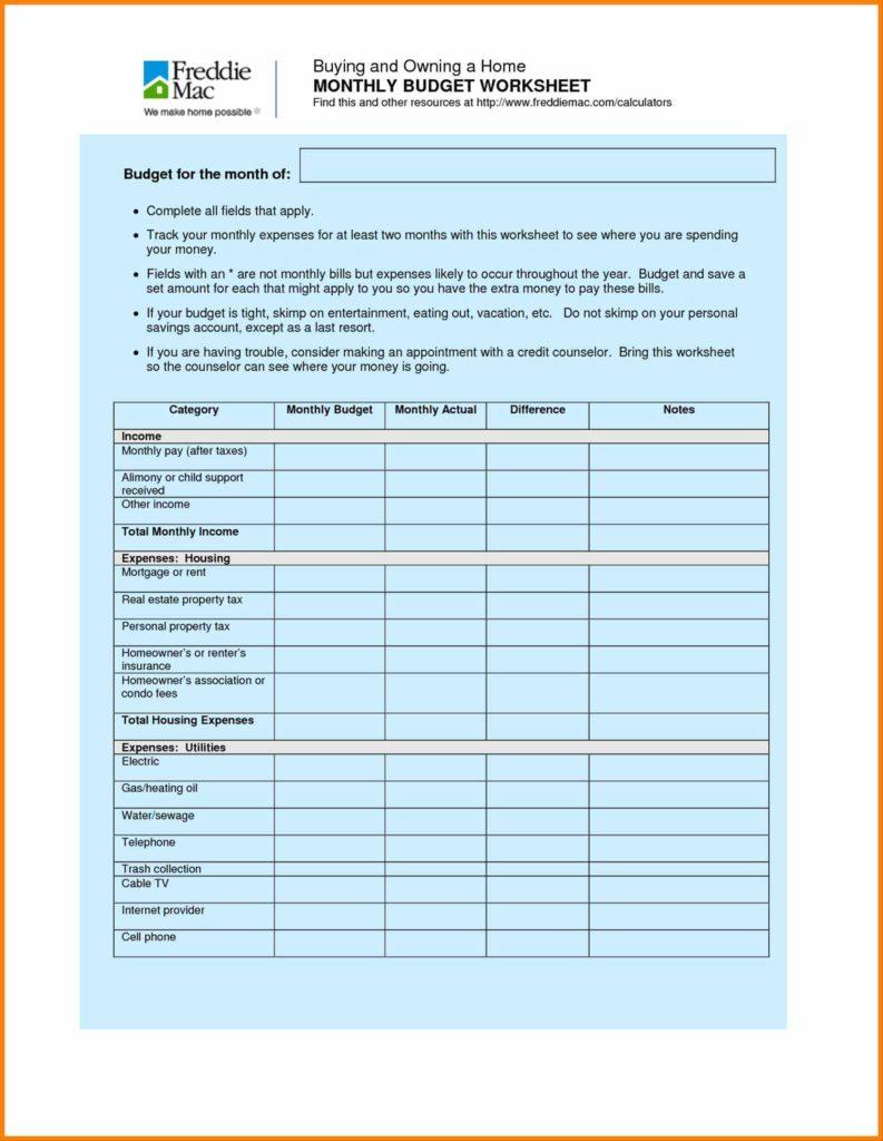 Household Budget Sheet Template and Bud Spreadsheet Worksheet Household Bud Paydayloansusaprh