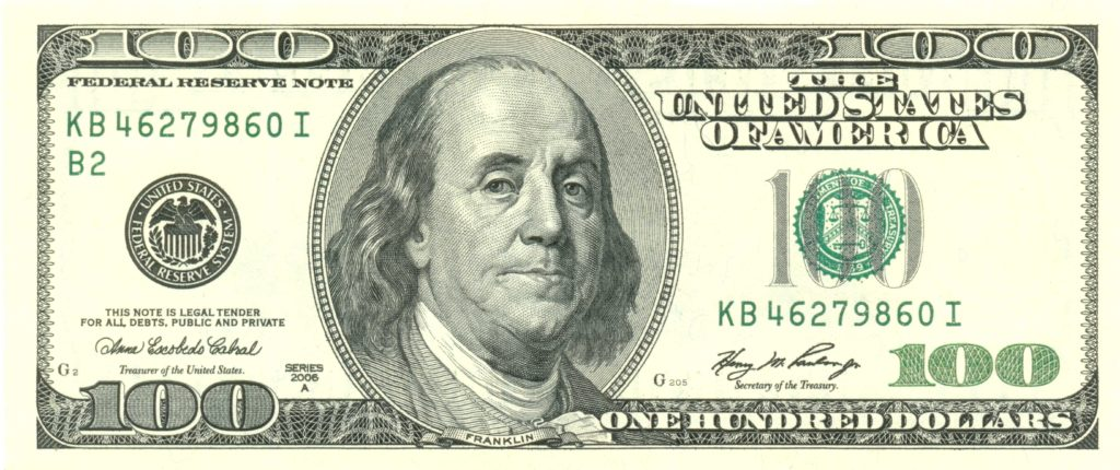 Hundred Dollar Bill Template and File Usdollar100front Wikimedia Mons