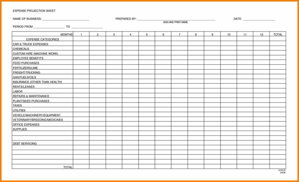 Independent Contractor Expenses Spreadsheet and Business Spreadsheet for In E and Expenses Spreadsheets Monthly