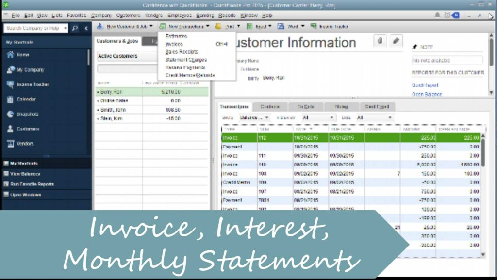 Interest Invoice Template and How to Create A Invoice Charge Interest Monthly Statement In