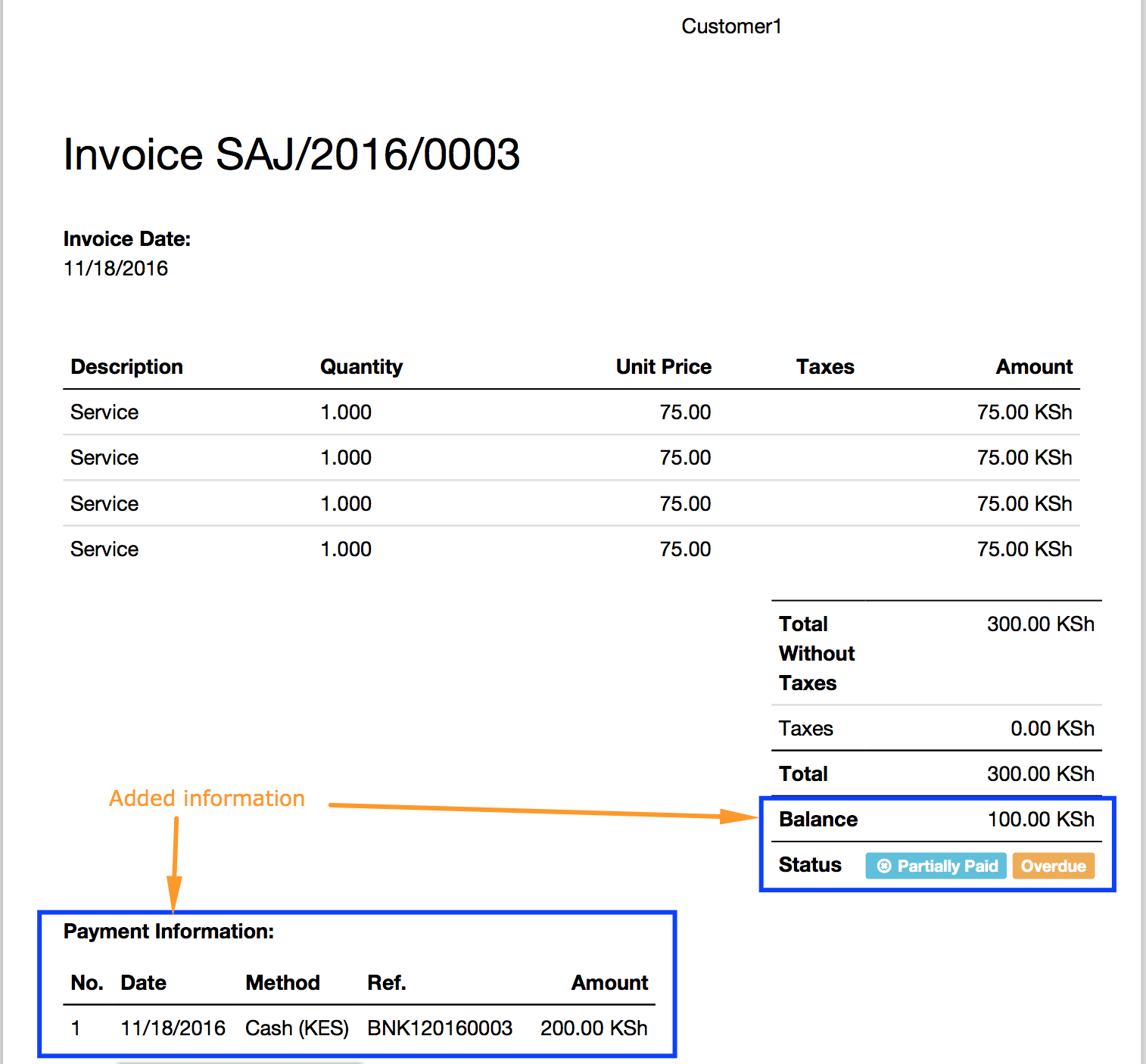 Invoice for Payment Template and Show Payment Info On Invoice Report Odoo Apps