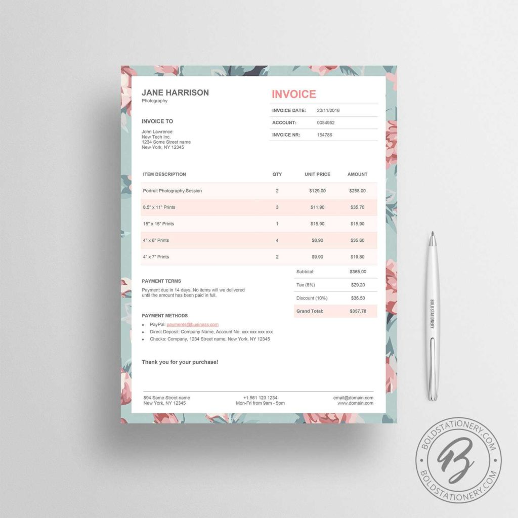 Invoice Template for Graphic Designer Freelance and Invoice Template 02 Receipt Template Invoice Template for